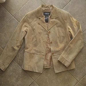 Vintage Genuine Brushed Leather Jacket *New*